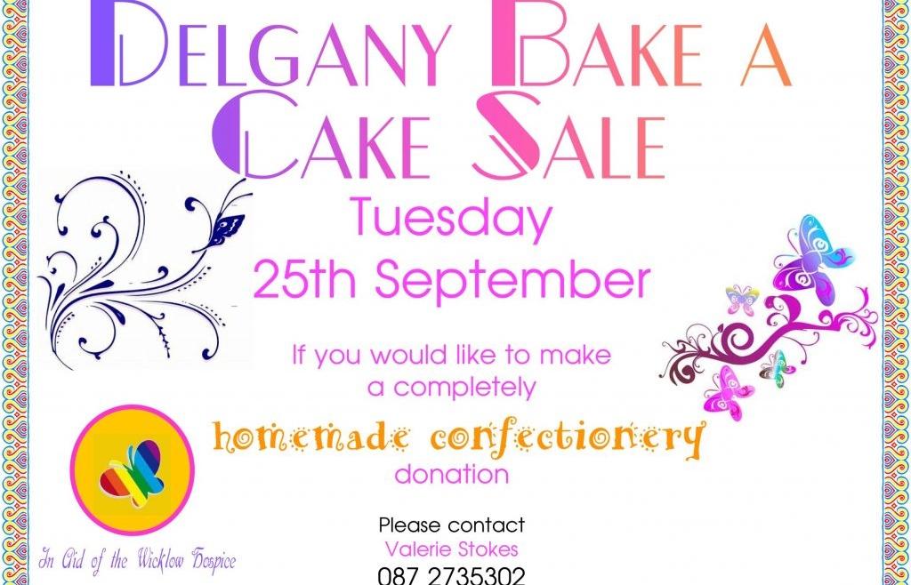 Delgany Bake-A-Cake Sale
