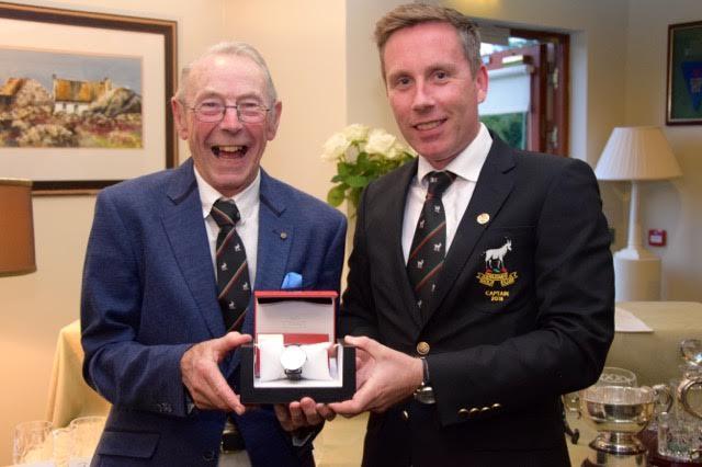 Captain's Prize: Winner 2018